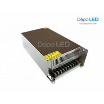 Hi-Capacity Power Supply 500W | 40A DC 12V dengan KIPAS PENDINGIN