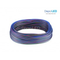 Kabel Power RGB untuk LED | 4lines x 100m