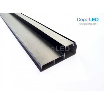 Frame Aluminium Running Text dan Videotron | STANDARD