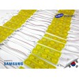 LED Module SAMSUNG YELLOW ANX 3 mata SMD 2835 | 12V IP68 Waterproof (KOREA)