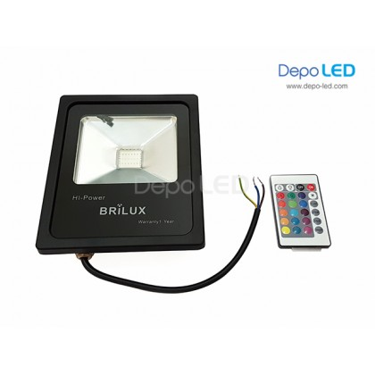 Slim RGB Floodlight LED 20Watt | AC 220V