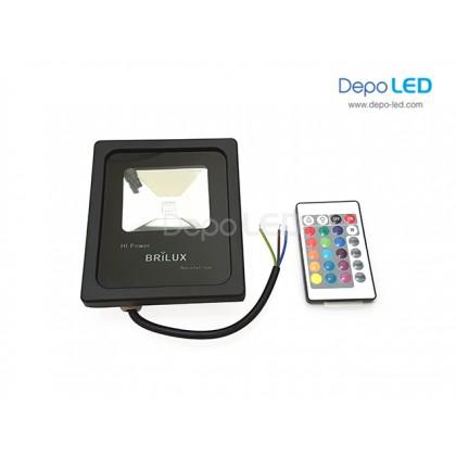 Slim RGB Floodlight LED 10Watt | AC 220V