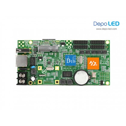HD-D1 Videotron + Running Text Full Colour Controller | 256 x 1024 | USB dan Ethernet
