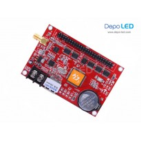 HD-W64 Running Text Controller Card | 256 x 1024 | USB dan Wifi