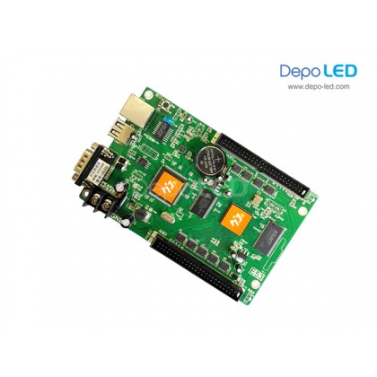 HD-E66 Running Text Controller Card | 512 x 2048 | USB, RS232 Serial dan Ethernet