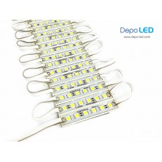 LED Module RugiGaBeli 6 mata | 12V IP65 Waterproof