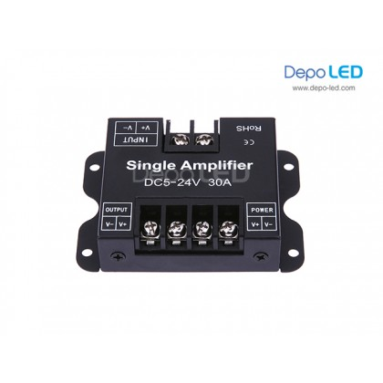 SINGLE Color Amplifier 30A 5-24V