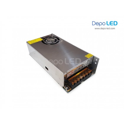 Hi-Efficiency Power Supply 30A | 350W DC 12V dengan KIPAS PENDINGIN