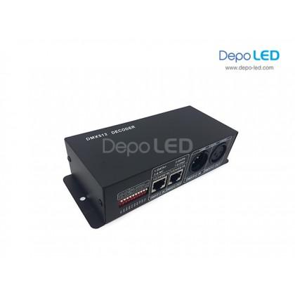 DMX 512 Decoder 4ch 32A | RGBW atau RGBWW