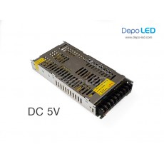Hi-Efficiecy Power Supply SLIM DC 5V 40A | 200W