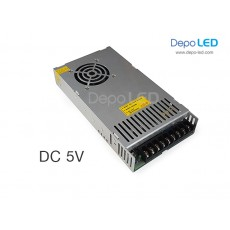 Hi-Efficiency Power Supply SLIM DC 5V 80A | 400W