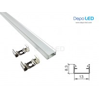 Housing LED Rigid 1 meter | Aluminium Casing