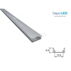Housing LED SHALLOW FLAT