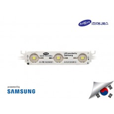 LED Modul SAMSUNG ANX 3 mata SMD 2835 | 12V IP68 Waterproof (KOREA)