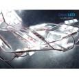 LED Modul SAMSUNG LEDXpert DOFF 3 mata SMD 2835 | 12V IP68 Waterproof (KOREA)