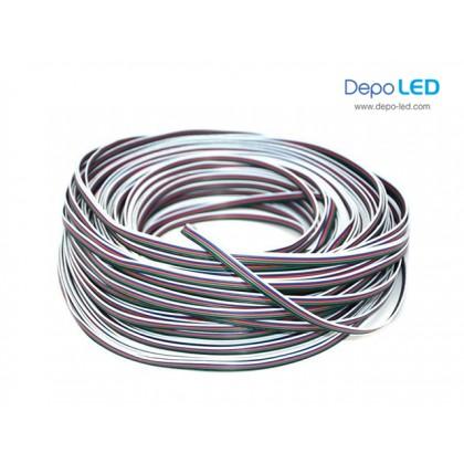 Kabel EVZ 5 RGBW untuk LED | 4 Lines