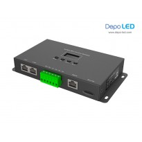 8 universe Artnet to SPI  Digital LED Controller | Online & Offline (Hybrid)