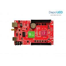 HD-W66 USB + WIFI + LAN Running Text Controller Card | 512 x 2048