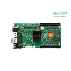 HD-C35c Hybrid 2in1 (SENDING + RECEIVING) Full Colour Videotron Controller | 512 x 1,024 | USB dan Ethernet