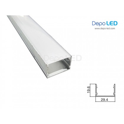 Housing LED OUTBOW 3cm x 2cm