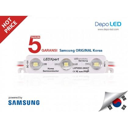 LED Modul SAMSUNG LEDXpert 3 mata SMD 2835 | 12V IP68 Waterproof (KOREA)