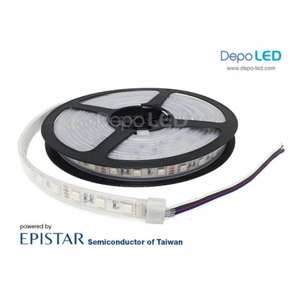 LED Strip SMD 5050 | 12V IP68 Waterproof Submersible Karet Silikon
