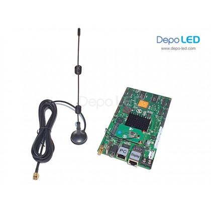 HD-C35c WIFI Hybrid 2in1 (SENDING + RECEIVING) Full Colour Videotron Controller | 320 x 384 | USB dan Ethernet