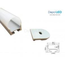 Housing LED OUTBOW 2cm x 3cm | 1m