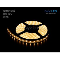 LED Strip SMD 3528 | 12V IP68 Waterproof Submersible Tube