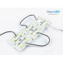 LED Module Sanan 4 mata | 12V IP65 Waterproof