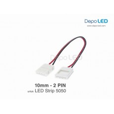 5050 LED Strip CLIP to CLIP Flexible Connector | 10mm 2 PIN