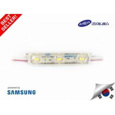 LED Modul SAMSUNG ANX 3 mata SMD 5630 | 12V IP68 Waterproof (KOREA)