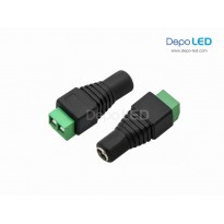 Female DC Socket 5.5mm x 2.1mm