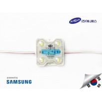 LED Module SAMSUNG ANX 4 mata SMD 5630 | 12V IP68 Waterproof (KOREA)