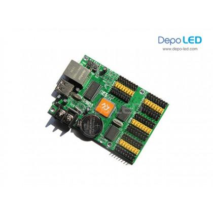 HD-E63 Running Text Controller Card | 128 x 2048 | USB dan Ethernet