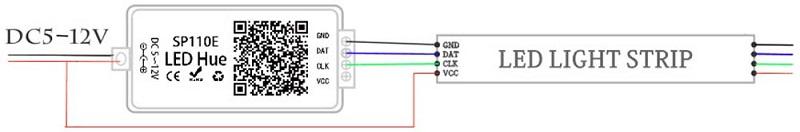 Cara pasang SP110E SPI Controller
