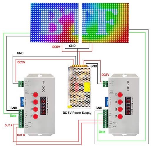 Cara gabung sinkronisasi kontroler K-1000C T-1000S